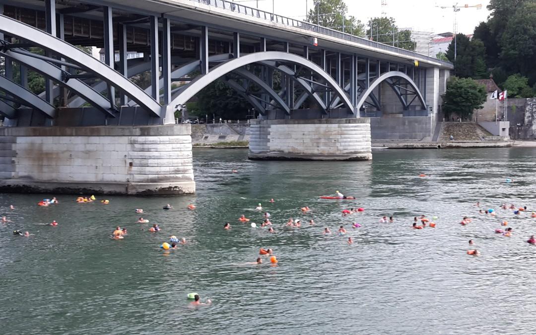 Basel geht baden oder warum unsere Fahrräder sich langweilen?