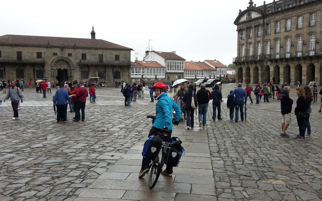 Jakobsweg verkehrt – Tag 1 – von Freiburg nach Santiago de Compostela
